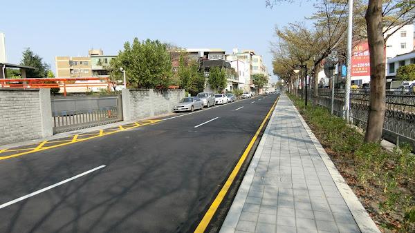 員林市萬年路嶄新風貌 打造友善行走環境