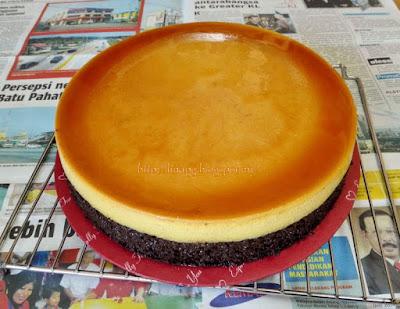 Kek Karamel Coklat Moist LiNa Pg