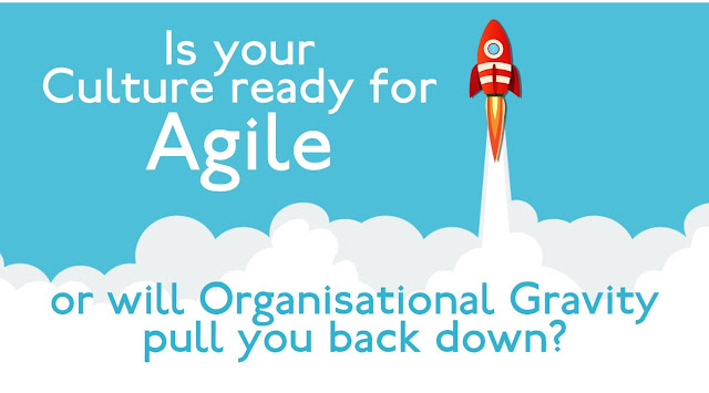 Is your organisation's Culture ready for Agile or will its Organisational Gravity pull you back down?