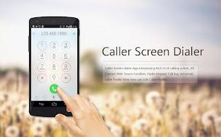 caller screen dialer pro apk