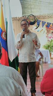 Álvaro Ángel Ballestas Varela rector general Institución Educativa José Manuel Rodríguez Torices  INEM Cartagena