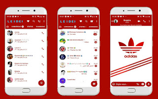 Adidas 3 Theme For YOWhatsApp & Fouad WhatsApp By Leidiane