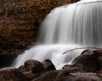 A photograph of Tanyard Creek Falls