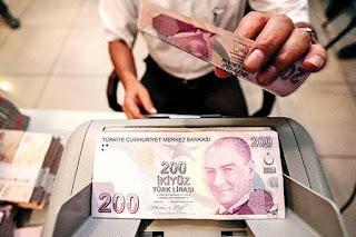 سعر الليرة التركية مقابل العملات الرئيسية الأثنين 27/7/2020