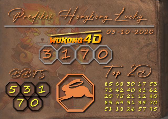 Prediksi Togel HONGKONG LUCKY 7 WUKONG4D 05 OKTOBER 2020