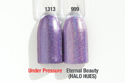 "Comparison ""HALO JEWELS"" ""HALO HUES"" Under Pressure"