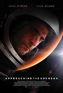 película, cartelera, nos vamos al cine, cine, ciencia ficción, cartel, mark strong, drama, thriller, aventua espacial, approaching the unknown, rumbo a lo desconocido,