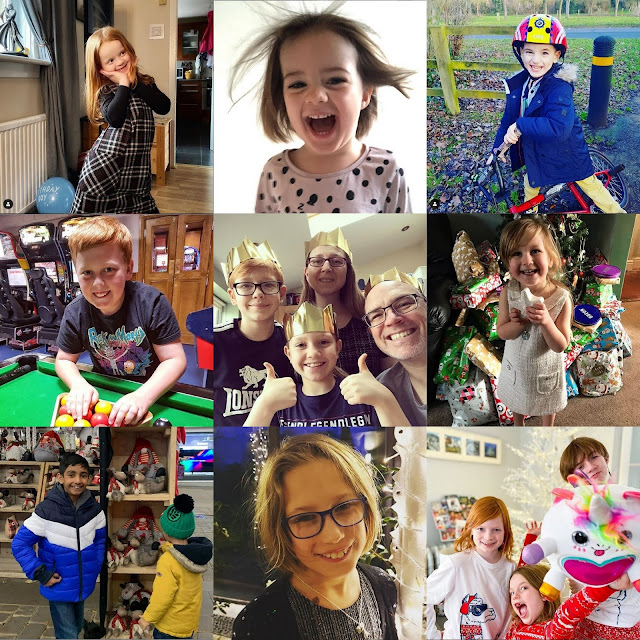Jan 2020 #TBCSmiles Collage of photos showing your smiles