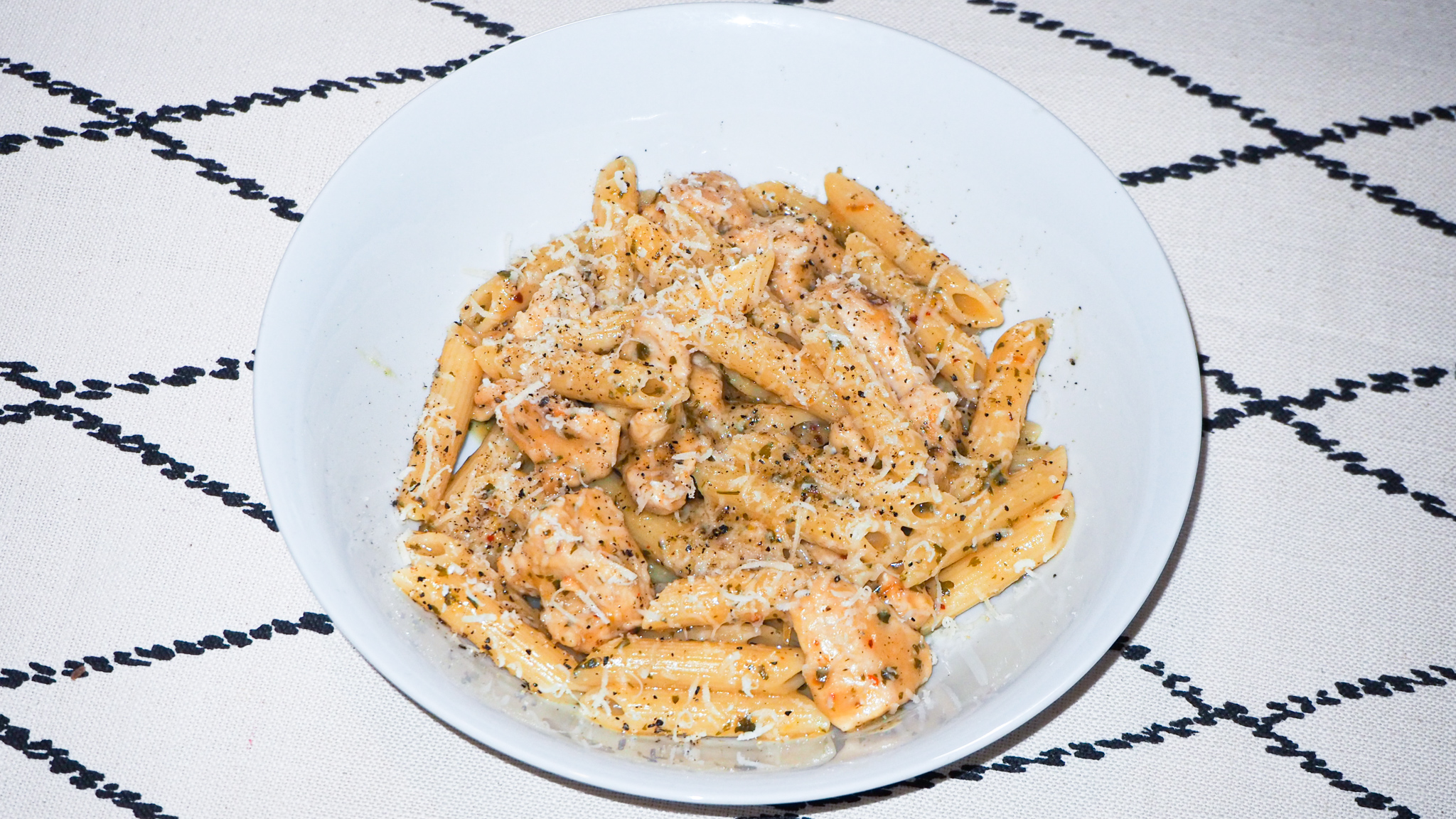Lemon Chicken Pasta Recipe Photo