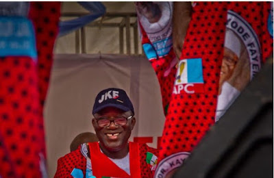 INEC Declares APC's Kayode Fayemi Winner Of Ekiti Election
