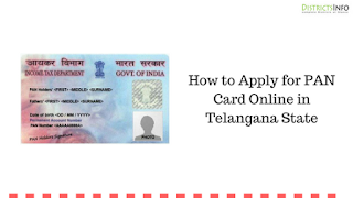 How to Apply for PAN Card Online in Telangana State