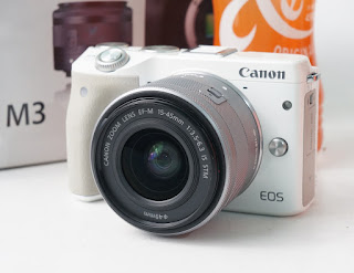 Jual Canon EOS M3 Bekas