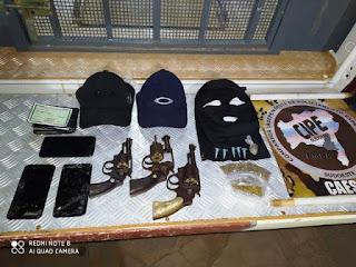 Confronto com a polícia em Caculé