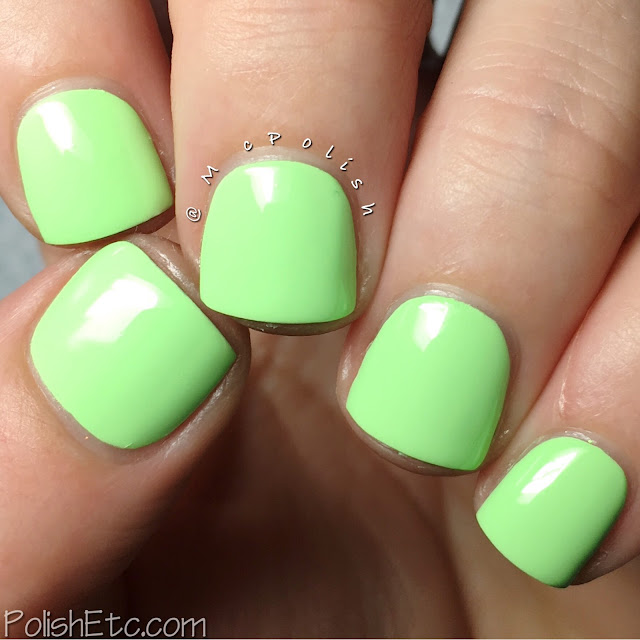 KBShimmer - Summer 2016 Collection - McPolish - Ready For a Good Lime