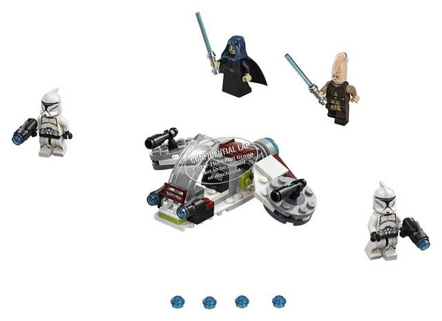 Lego Star Wars - Jedi and Clone Troopers Battle Pack (75206)