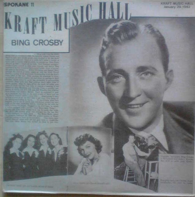 Bing Crosby's Kraft Music Hall performance, 29 January 1942 worldwartwo.filminspector.com