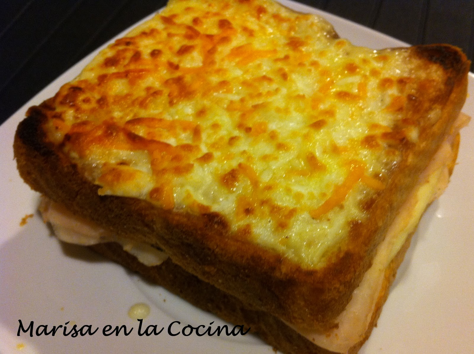 Marisa en la cocina croque monsieur for Cenas francesas