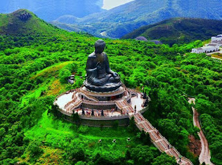 Tian Tan Buddha Lantau Island Hong Kong China