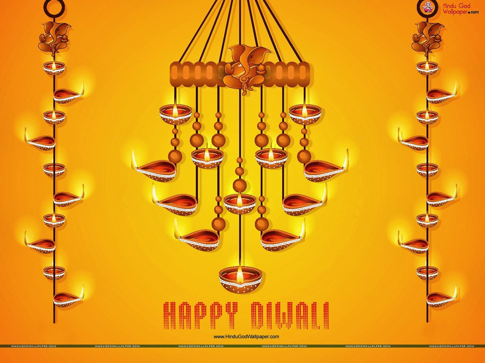 Lord Ganesha Animated Wallpapers Diwali Diya Hindu God Wallpapers Download