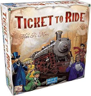 Aventureros al tren juego de mesa (Ticket to ride)