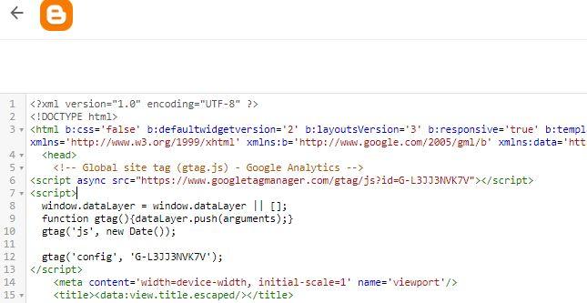 Nuestro código HTML