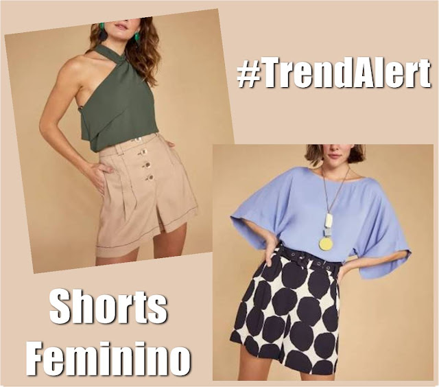 Tendências em shorts femininos para a primavera/verão