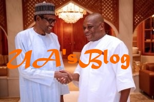 Just In: Buhari in Closed-Door Meeting With Orji Uzor Kalu