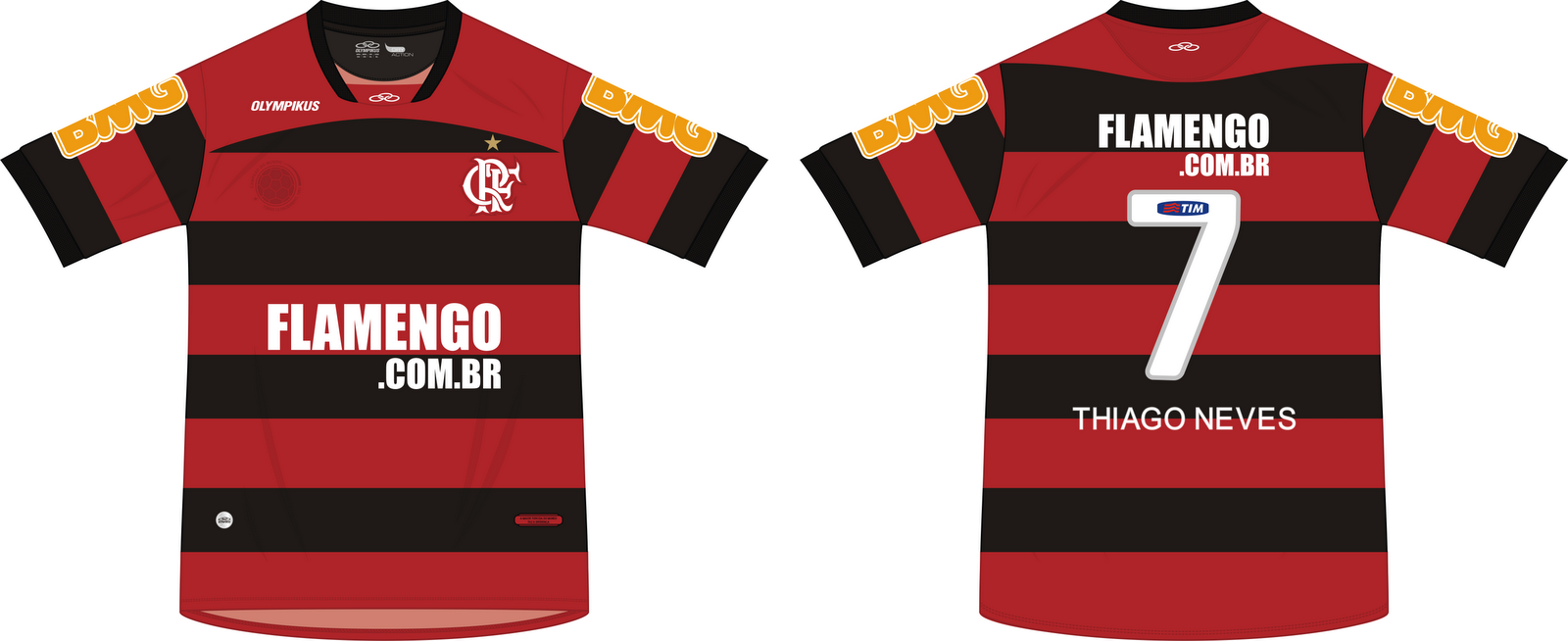 aee6c6e742 Manto Rubro-Negro  Flamengo + TIM