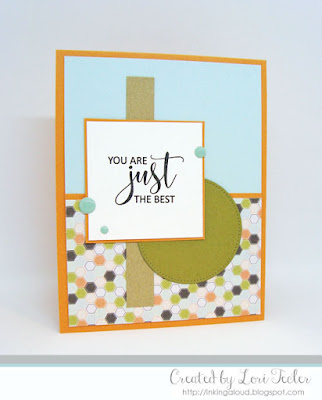 You Are Just the Best card-designed by Lori Tecler/Inking Aloud-stamps from Avery Elle