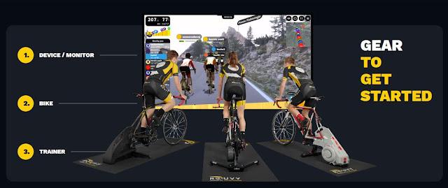 Rouvy - A aplicação ideal para Ciclismo Indoor