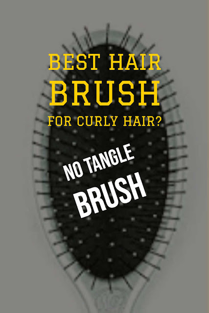 Curly hair brush review