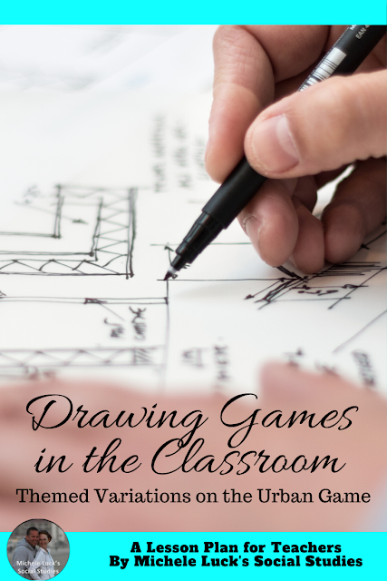 Drawing Games not only inspire your students and force them to look at the topic through a different lens, but they're also fun and engaging! #lessonplanning #unitplanning #funforteachers #funlessons #funactivities
