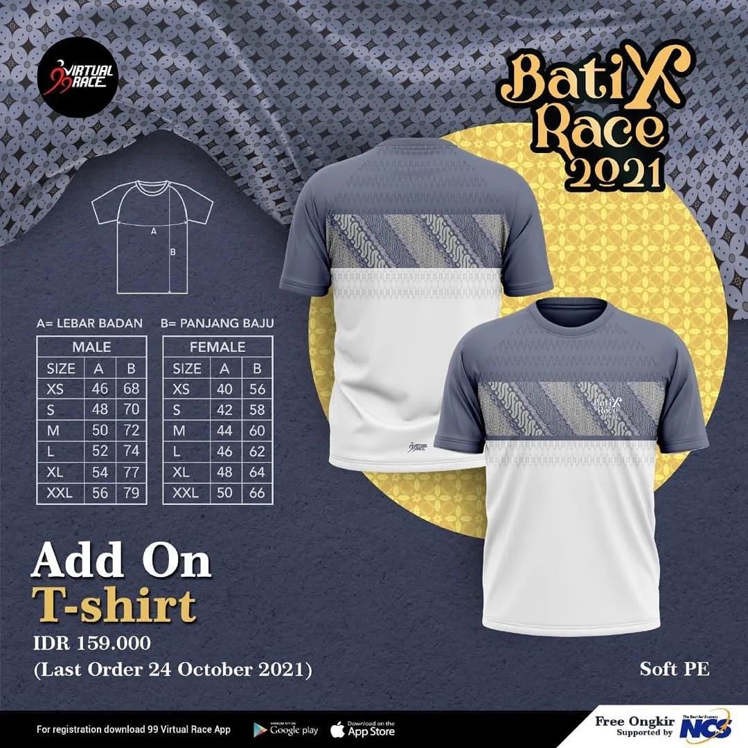 Batix T-Shirt 👕 BatiXRace • 2021
