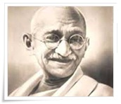 essay on mahatma gandhi in hindi in 300 words