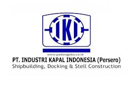 Lowongan Kerja PT. Industri Kapal Indonesia (Persero) Oktober 2019