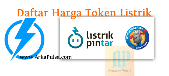 Daftar Harga Token Listrik PLN Prabayar Server Arkana Pulsa CV Sinar Surya Suryandaru Blora