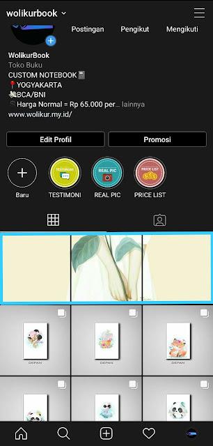 Cara Membuat Grid Instagram 6