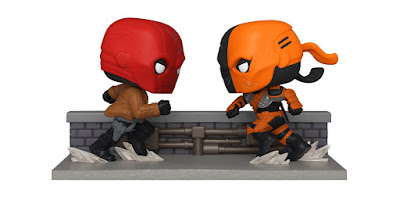 San Diego Comic-Con 2020 Exclusive DC Comics Red Hood vs Deathstroke Pop! Moments Diorama by Funko
