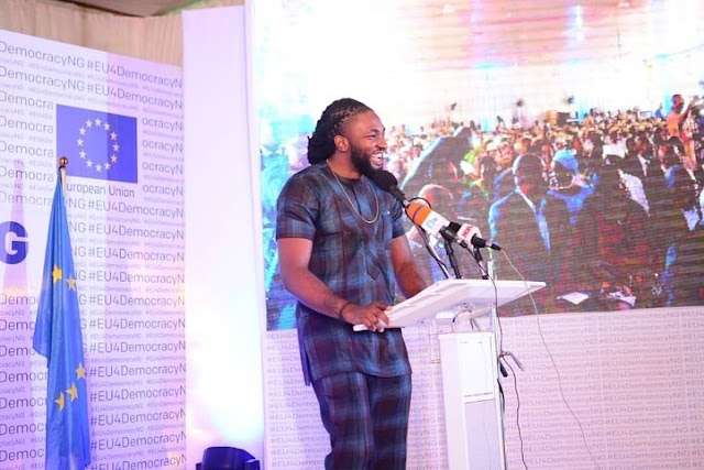 BBN's Uti shares his experience working with the European Union as their MC