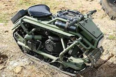 Namanya Hamyak, Skutik Berperawakan Tank dari Rusia