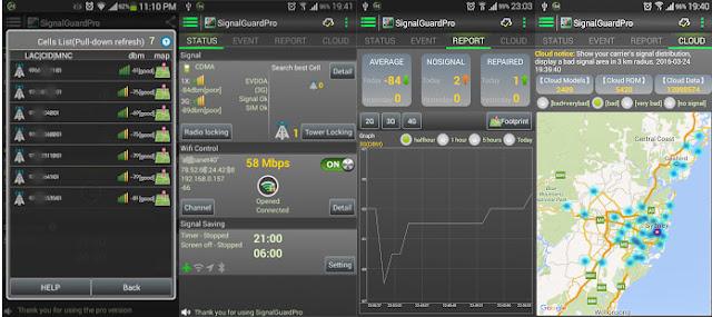 Aplikasi Signal Guard Pro