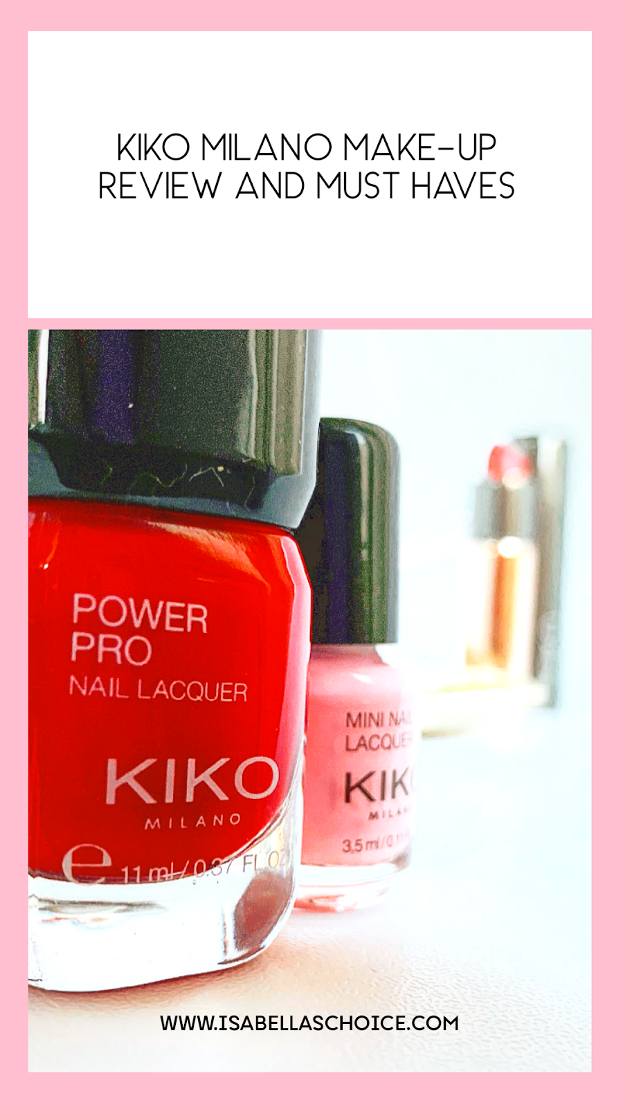 KIKO MILANO MAKE-UP HAUL