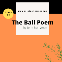 The Ball Poem by John Berryman All questions Answers | English Class 10