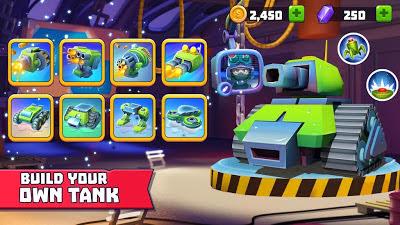 تحميل لعبة الاكشن متعددة اللاعبين Tanks A Lot! النسخة المعدلة للاجهزة الاندرويد باخر تحديث