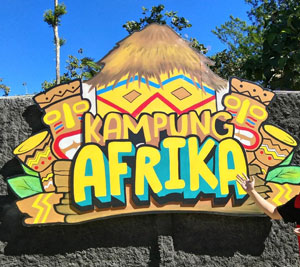 Kampung Afrika, Objek Wisata Hits Terbaru di Kota Blitar