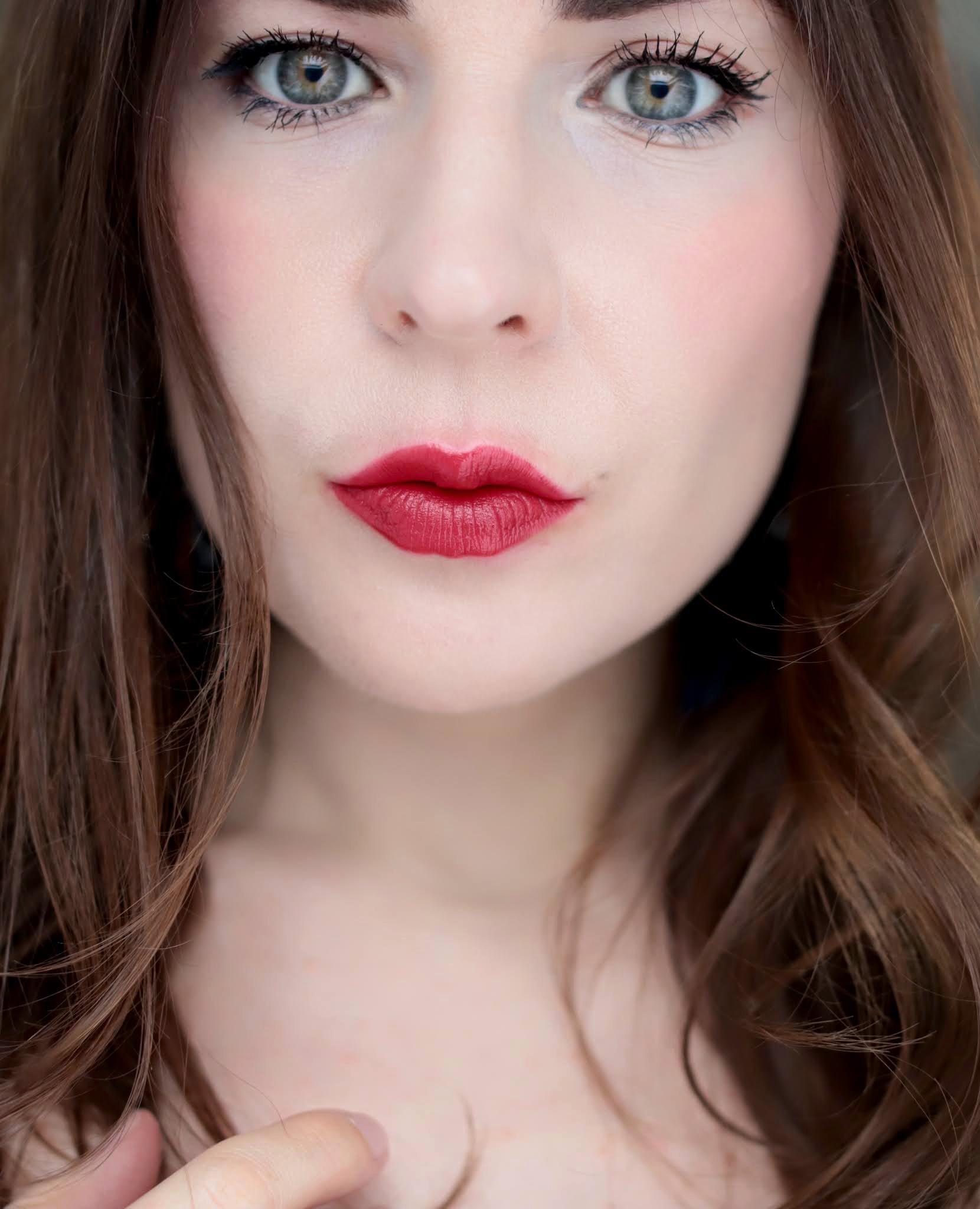 La Rouge Bouche Pop Art Red