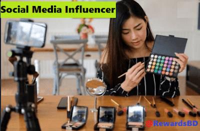 Be a social media influencer