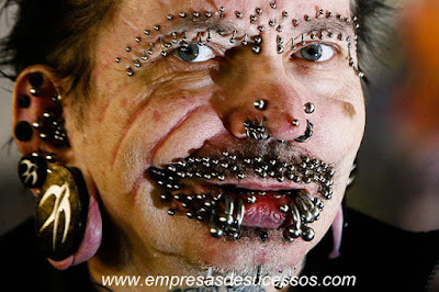 Body piercing mais esquesitos do mundo