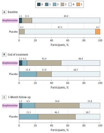図:アンフェタミンと脳卒中機能回復