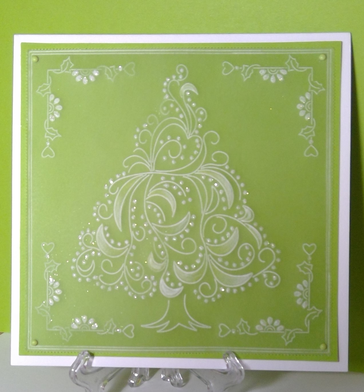 Cotswold Crafter: My First Groovi Christmas Card